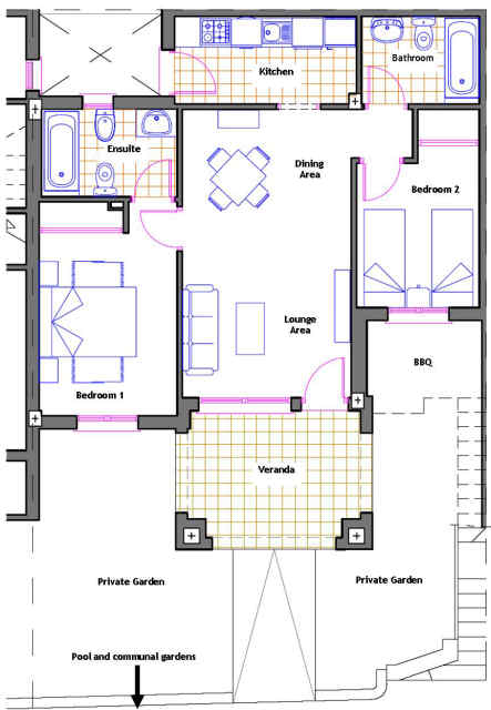 apartment layout apartments in spain